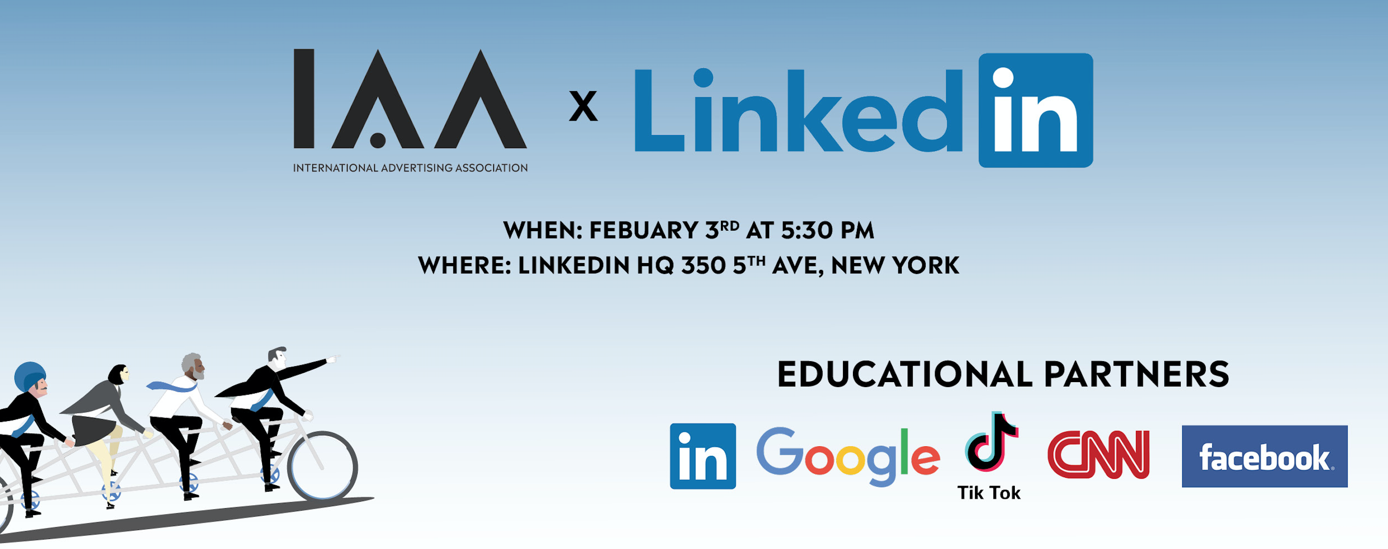 Learn and Network at LinkedIn, Feb 2020