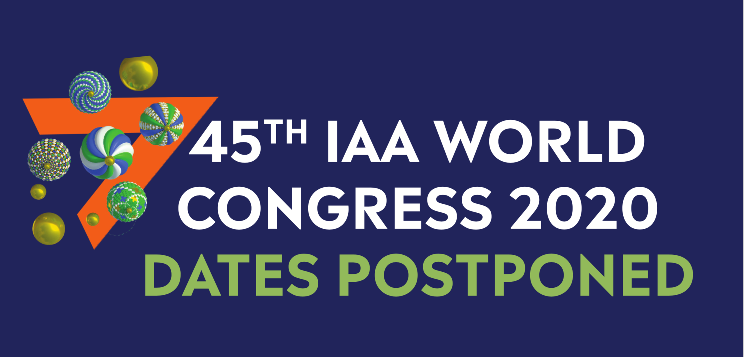 45th IAA World Congress Postponed