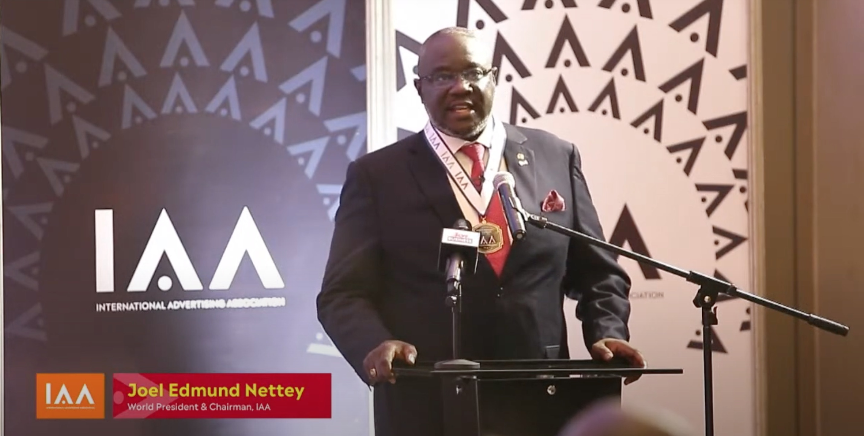 Joel Nettey becomes IAA Chairman and World President
