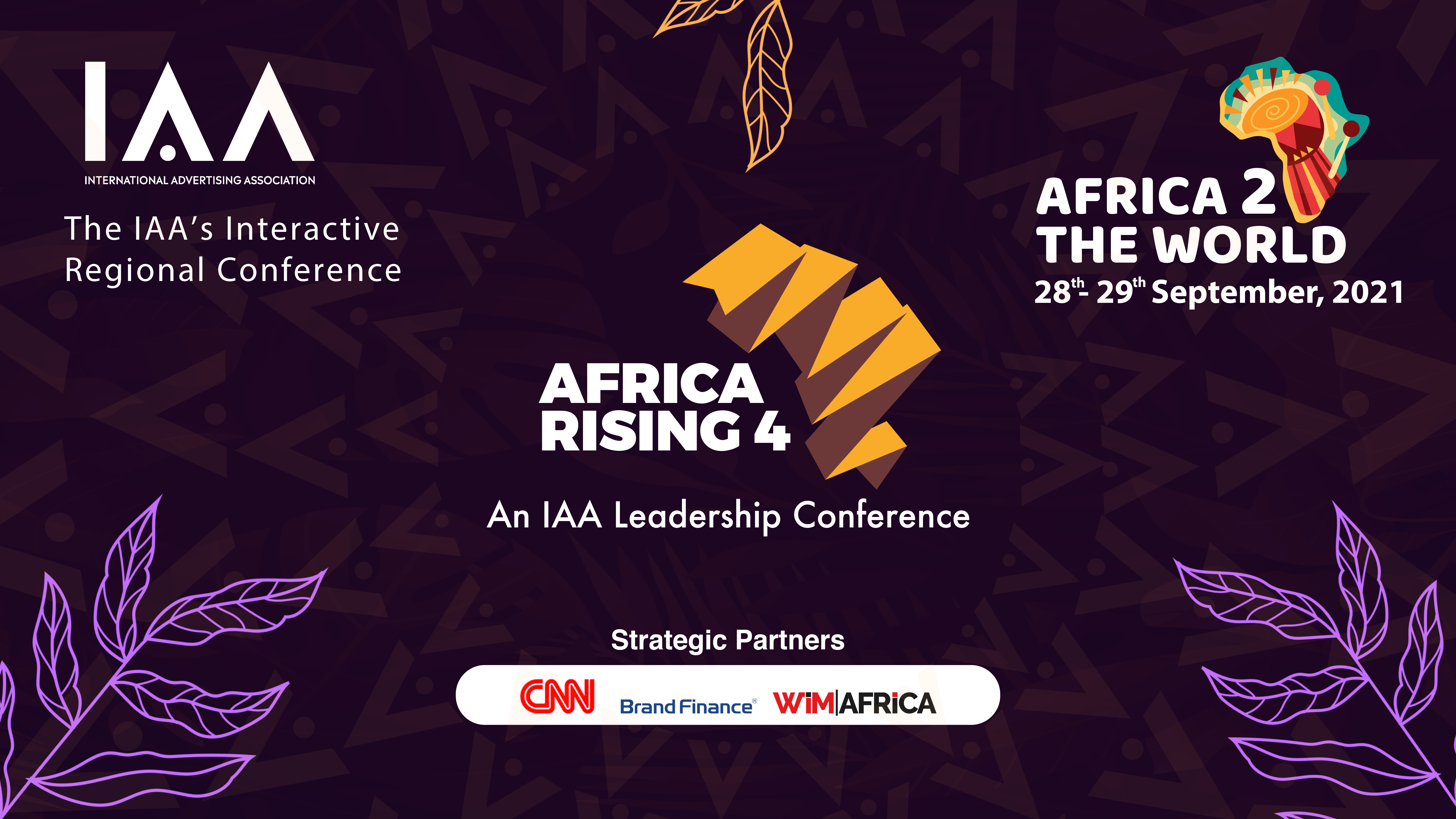 IAA Africa Rising Virtual Conference: 4th Edition