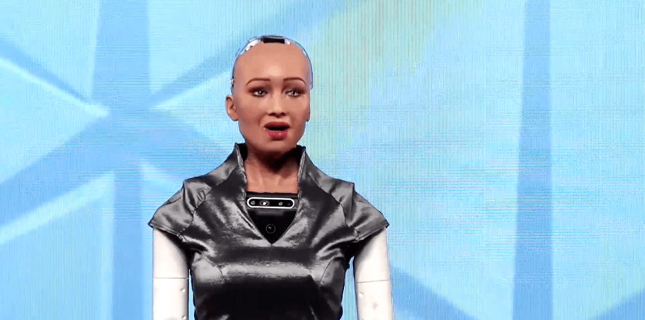 Robot Sophia | IAA World Congress 2019