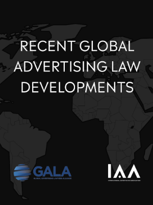 Recent Developments in Advertising Law