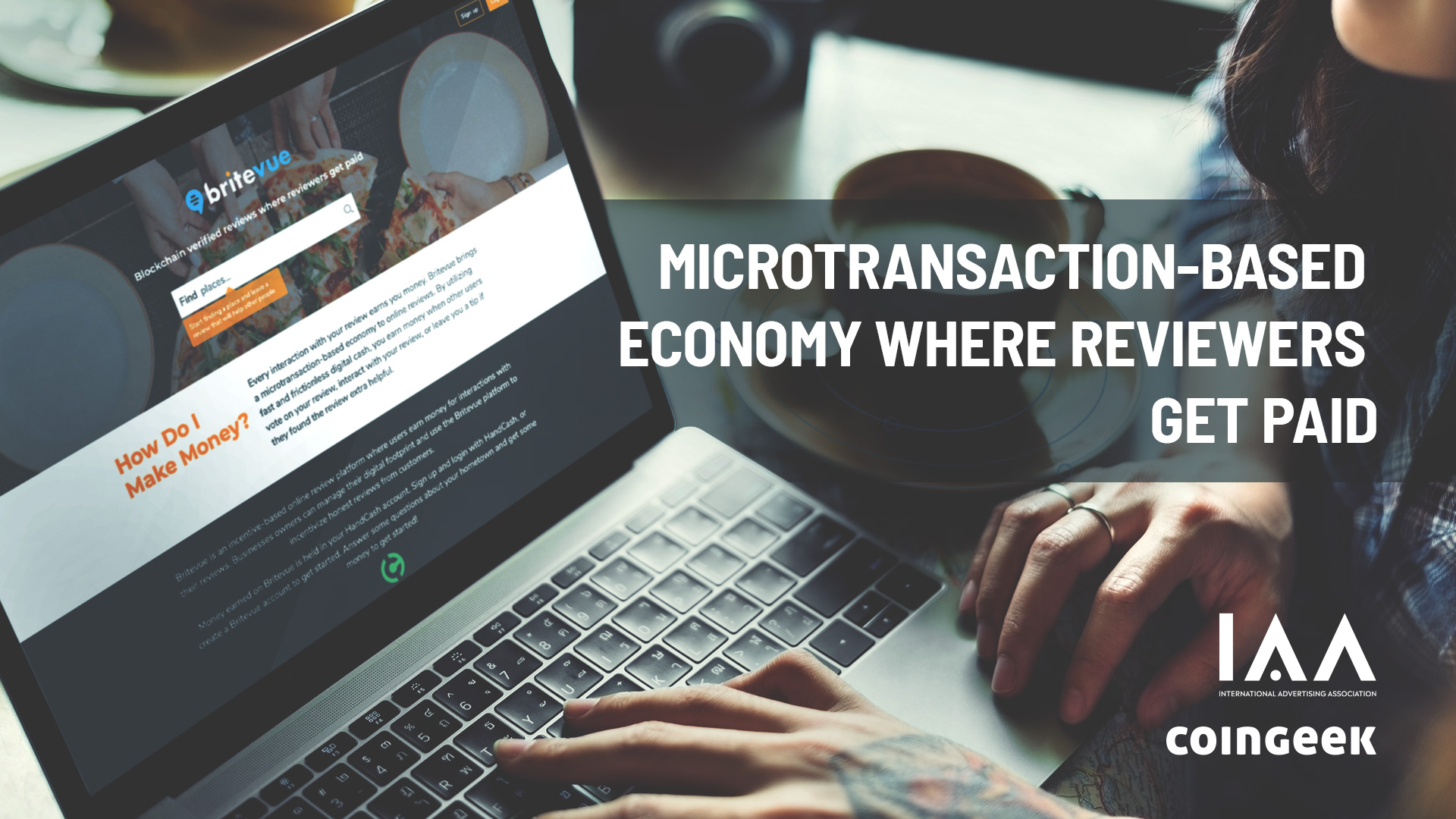 Microtransaction-based economy where reviewers get paid